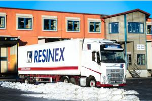 Fossil free fuel in Resinex Sweden